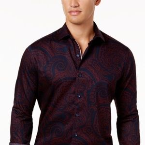 Men's Tasso Elba Dress Shirt